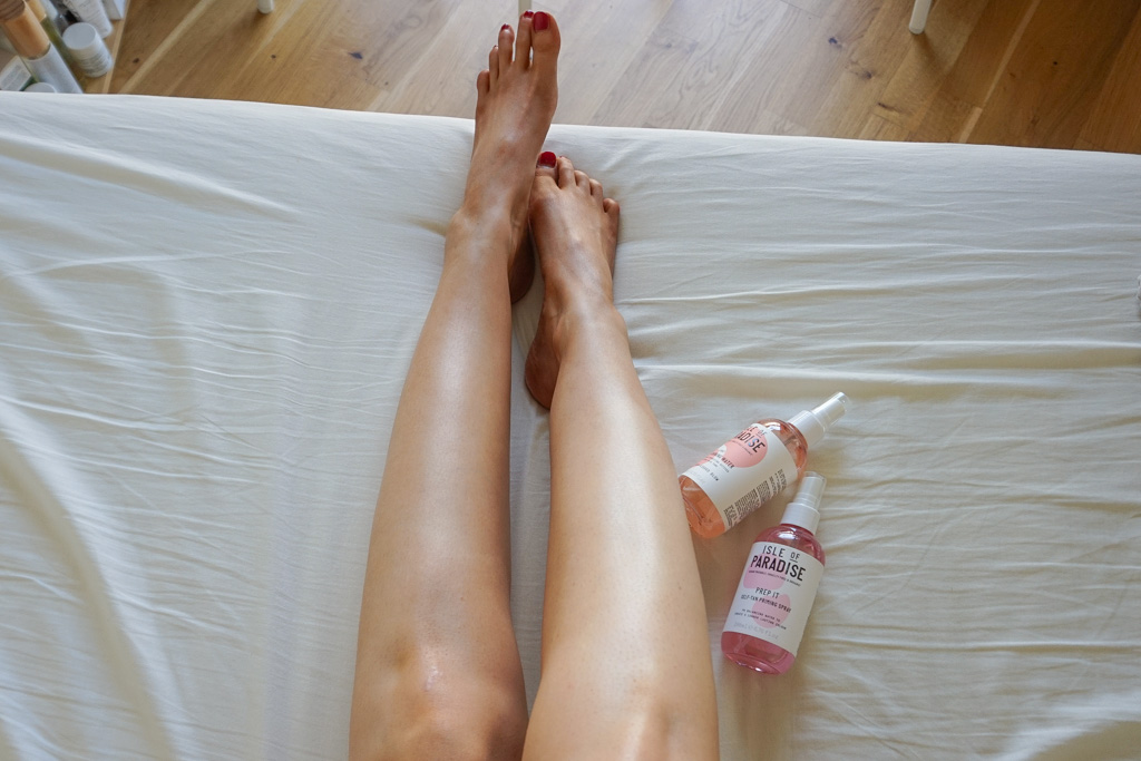 Isle of Paradise Self Tanning Water Light review recenzia